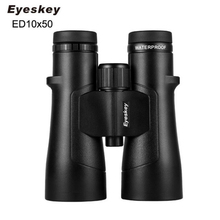 цена Eyeskey ED 10x50 Binoculars lll Night Vision Waterproof Super-Multi Coating Bak4 Prism Optics High Power Telescope for Hunting