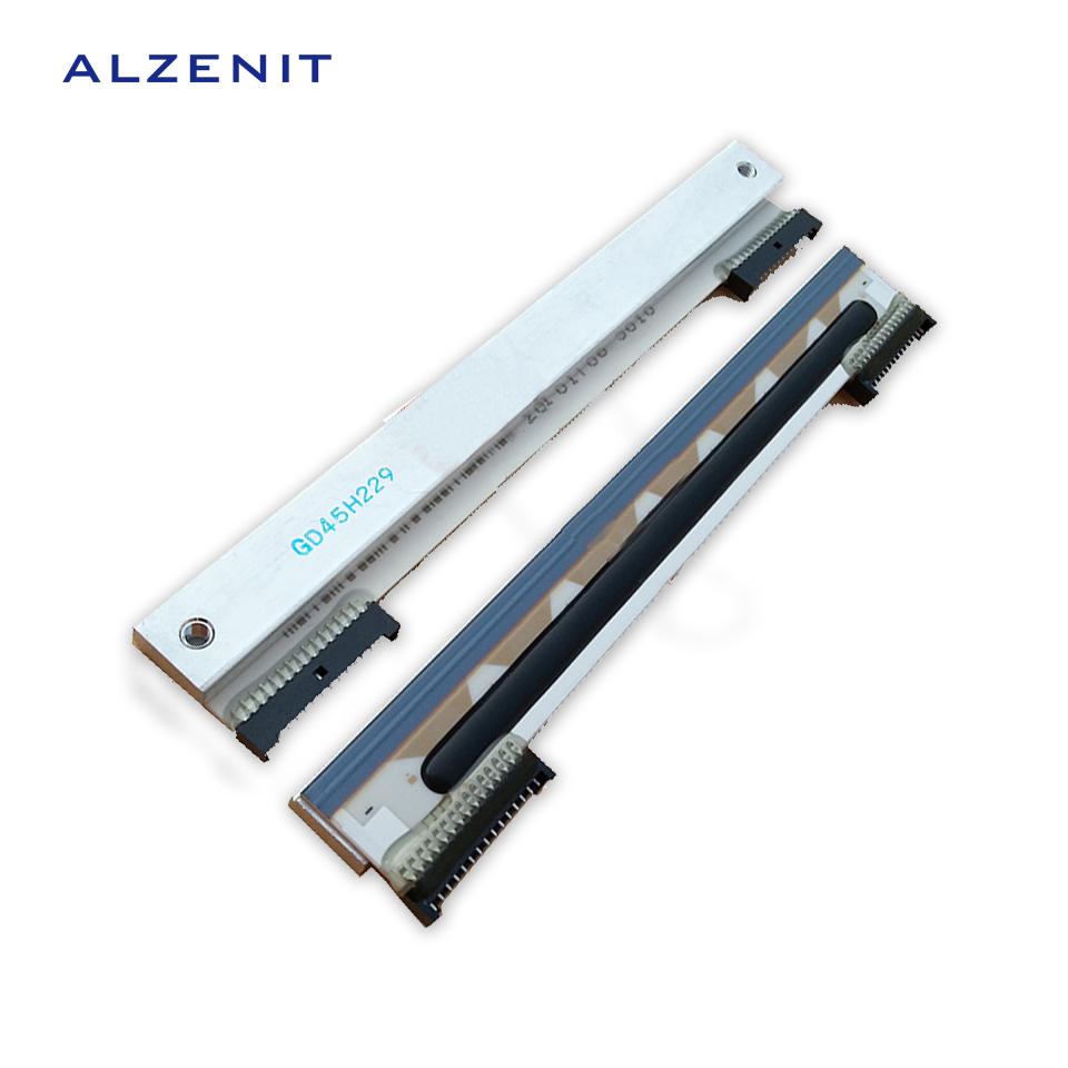 2Pcs Lot ALZENIT For Zebra 888TT TLP2844 GK888T OEM New Thermal Print Head font b Barcode