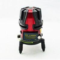 Профессиональный 8 линия роторный лазерный луч самонивелирующийся для дома и улицы лазерный уровень комплект с штативом