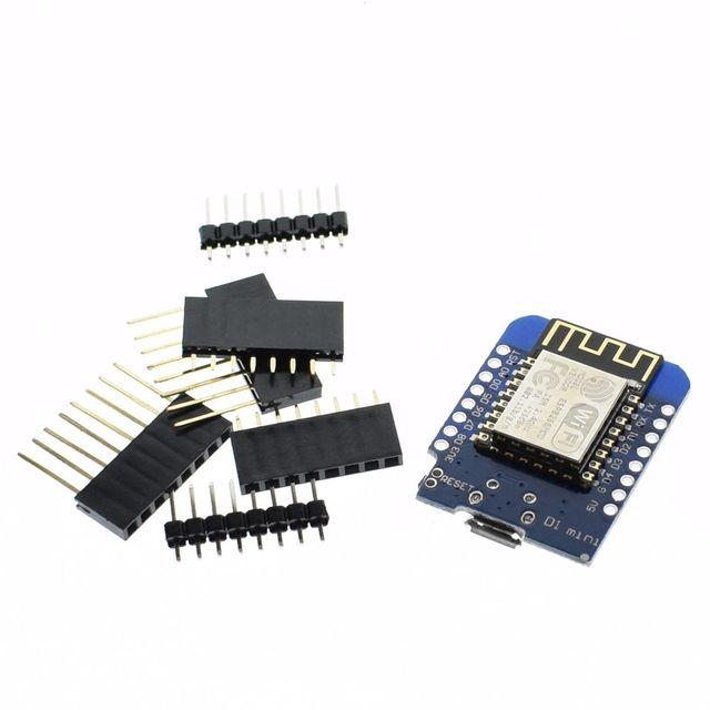 1pcs Smart Electronics D1 mini - Mini NodeMcu 4M bytes Lua WIFI Internet of Things development board based ESP8266 by