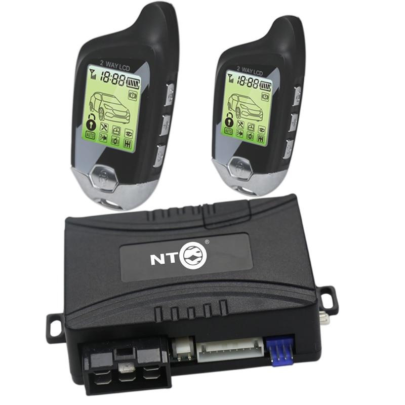 Nouveau système d'alarme automatique de voiture de démarrage de moteur à distance avec le système de verrouillage Central de porte automatisation NT-C078S/501