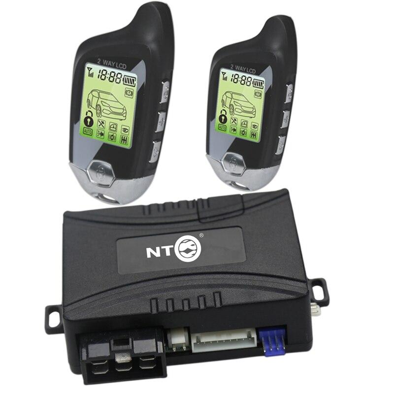 Nouvelle Auto Moteur Démarrage À Distance alarme de voiture système avec Porte Centrale système de verrouillage Automatisation NT-C078S/501