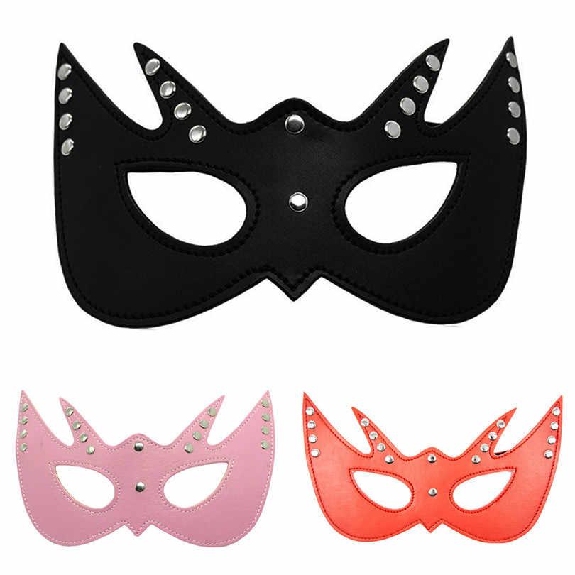 SM очки для глаз, маска-козырек для глаз для взрослых секс игровая маска очки вечерние Косплэй путешествия отдыха блиндфолд #5