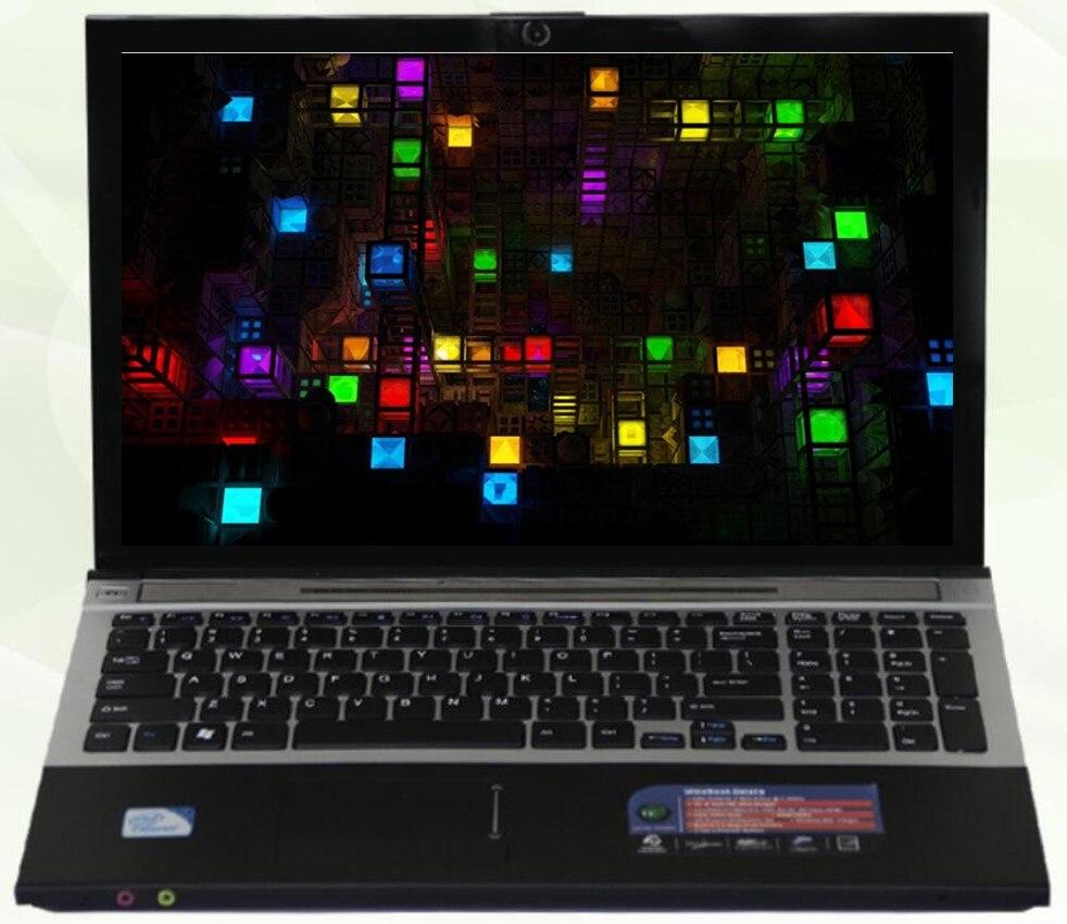 8 г Оперативная память DDR3 + 240 г SSD + 1000 ГБ HDD 15.6 дюйма светодиодный Intel Core i7 Процессор ноутбука оконные рамы 7/10 Тетрадь с DVD-RW встроенный WI-FI Bluetooth