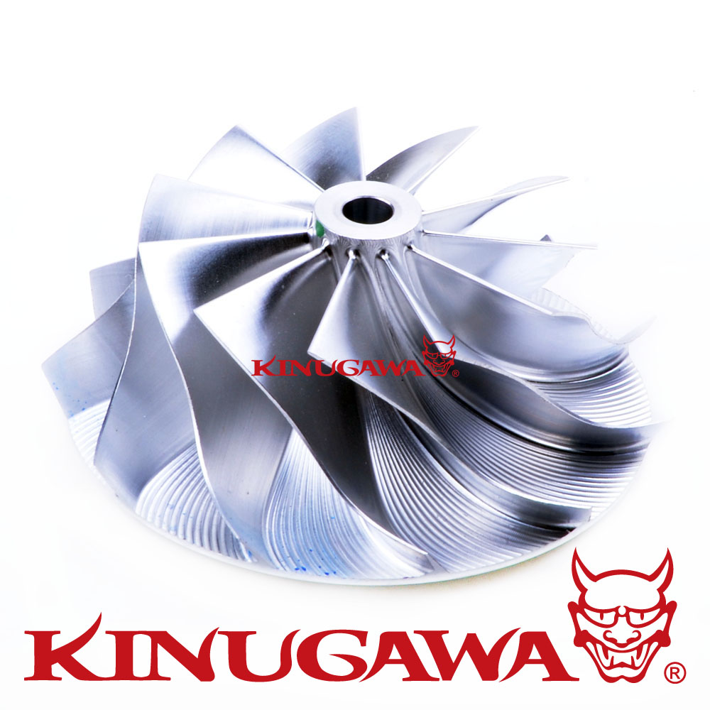 Kinugawa Turbo Billet Compressor Wheel 42.2/60.4mm 10+0 Trim 49 for Garrett GTX2860 цена