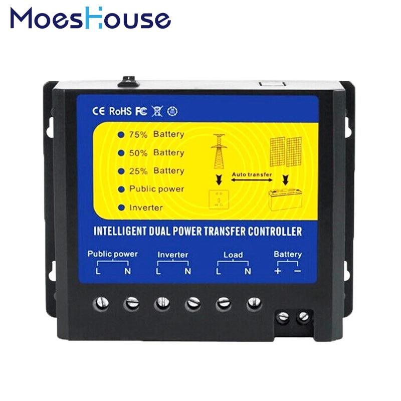 Moeshouse AUTOMATIQUE ATS Dual Power commutateur de transfert de Solar Charge Controller pour S