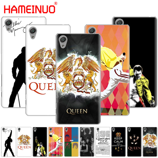 US $2 48 |HAMEINUO Queen Rock Group Cover phone Case for sony xperia C6 XA1  XA2 XA ULTRA X XP L1 L2 X XZ1 compact XR/XZ PREMIUM-in Half-wrapped Case