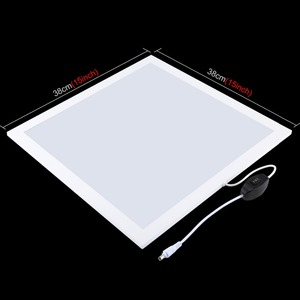 Image 3 - 1200LM LED Studio Photography Shadowless Bottom Light Shadow free Lamp Panel for Photo Shooting Tent Box &No Polar Dimming Light