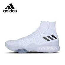 Аутентичные Белый Adidas обувь культуры Crazy Explosive Boost Для мужчин дышащая баскетбольной обуви высокого верха DMX спортивные кроссовки для Для мужчин