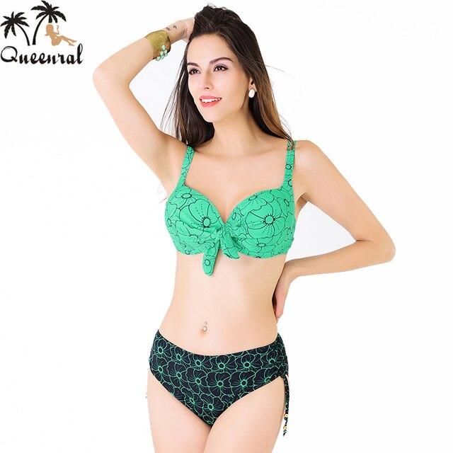 16a5270988852 Queenral Bra push up Swimsuit Bra swimwear women 2016 female swimwear  bathing suit women bra set