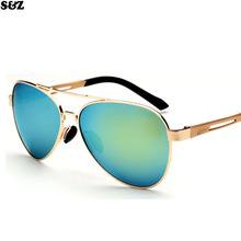Diseño de marca gafas de sol polarizadas para el conductor Imitación Bambú Polarizadas Deporte gafas de Sol Gafas de pesca gafas de sol hombre