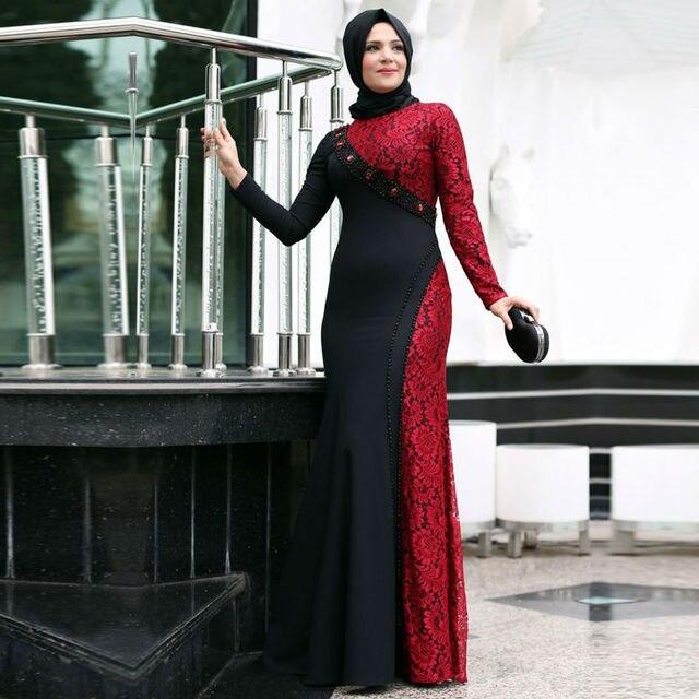 Vestidos de fiesta para mujeres musulmanas