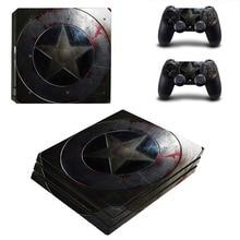 Captain America PS4 Pro Skin Sticker Vinyl Decal Sticker