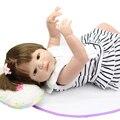 Lifelike Full Soft Silicone 23 Inch Reborn Dolls Realistic Boneca Newborn Babies Doll Princess Toy Children Birthday Gift