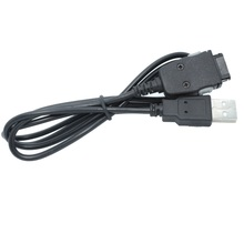 Portable Charging Data Cable Cord Compatible FOR Samsung MP3 MP4 YP-P3 P2 S3 Q1 Q2 K3 T10 T9 Black Charger/Data USB