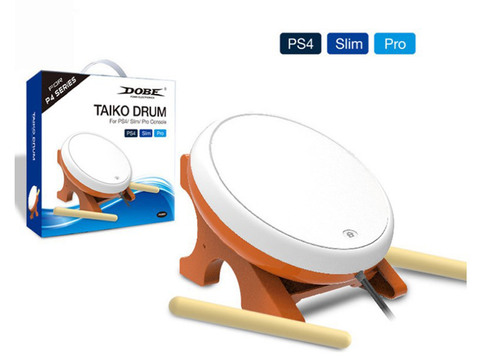 PS4 Taiko Drum for Sony Playstation 4 PS4 / PS4 Slim / PS4 Pro цена и фото