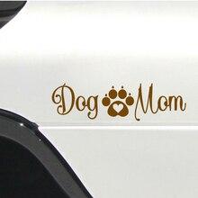 20*5.7cm Car Window Decal Truck Outdoor Sticker Lovely Dog Mom Animals Puppy Bark Woof Interesting Fashion Decals