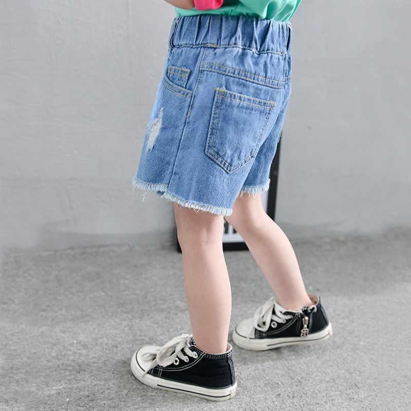 4f019dab4f ... Summer Kids Casual Jean Skirts for Girls 2019 Children Denim Pencil  Skirts Pantskirts Buttons Elastic Waist ...