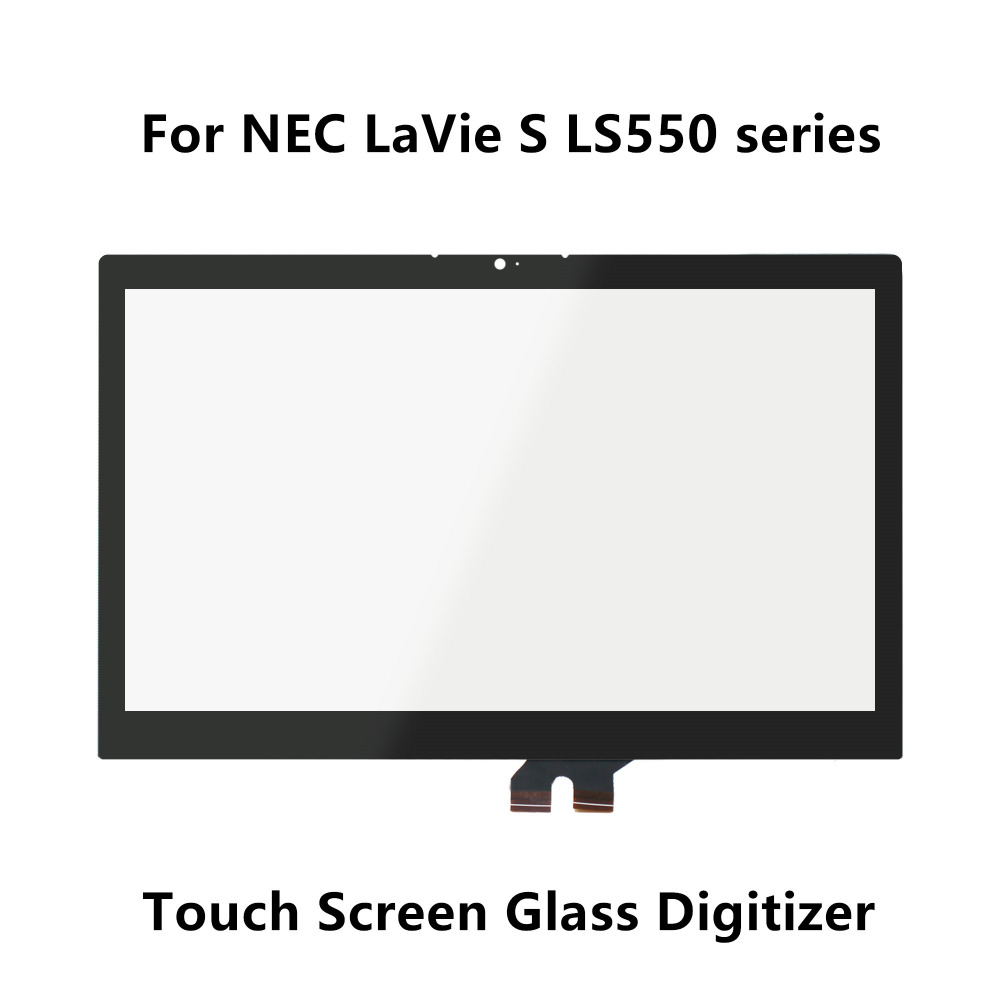 15.6'' For NEC LaVie S LS550 series LS550/MSB-J PC-LS550MSB-J LS550/MSB-Y PC-LS550MSB-Y Touch Screen Digitizer Panel Glass Lens саундбар mystery msb 115w