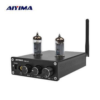 AIYIMA TPA3116D2 Bluetooth 4.2 Amplifier 50W*2 HiFi Vacuum 6J4 Tube Digital Amplifiers Stereo Power Amp With Treble Bass Tone - DISCOUNT ITEM  22% OFF All Category