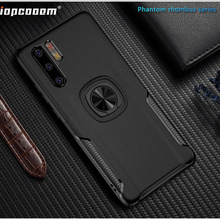 купить Phone Case For Huawei P30 Pro Case Ring Magnetism Stand Shockproof Car stand Armor back cover For Huawei P30 Pro Coque 6.47 Inch дешево