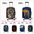 FORUDESIGNS Vintage Elastic Luggage Protective Cover With Ziper For 18-28 Inch Trunk Case individual Luggage Suitcase Cover