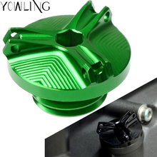 For Kawasaki Z800 Z 800 2013 2014 2015 2016 Motorcycle M20*2.5 CNC Engine Magnetic Oil Drain Plug Filter Cup Plug Cover Screw for kawasaki z800 2013 14 vn650 vulcan s 2015 2016 motorcycle m20 2 5 oil cap reservoir cup caps engine oil filter cover cap