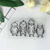 Animal Little Birds Fairy Silicone Clear Stamps For Scrapbooking/New 2019 Card Making Bullet Journal Sentiment Sweet Stamp 768