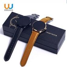 U watchใหม่k88h smart watch h eart rate monitorกันน้ำร้อนของขวัญคริสต์มาสสำหรับxiaomi huawei iphone 5/5 s/6/6วินาทีpk lemfo gt08