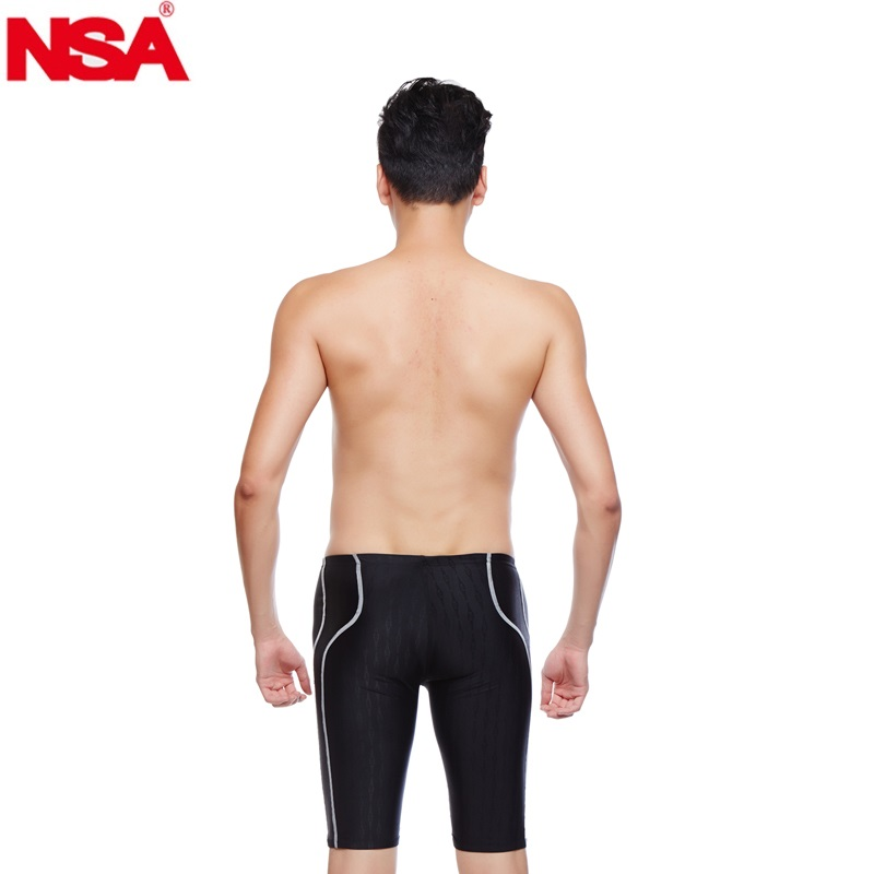 b2ce0adb39 NSA Sharkskin,waterproof,chlorine resistant competition mens swim jammers  swimming pants men's swimwear swimming trunks-in Body Suits from Sports ...