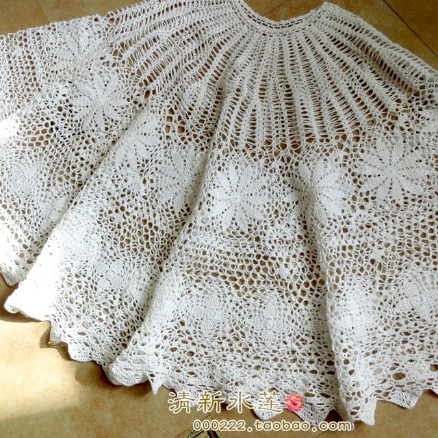 Free Shipping White Lace Scarf For Women Christmas Tree Decoraion