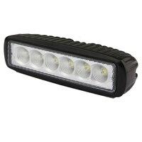 1Pcs 18w DRL LED Flood Work Light Worklight 9 32V 4WD 12 volt led work lights searchlig for Off Road Vehicle SUV car trucks