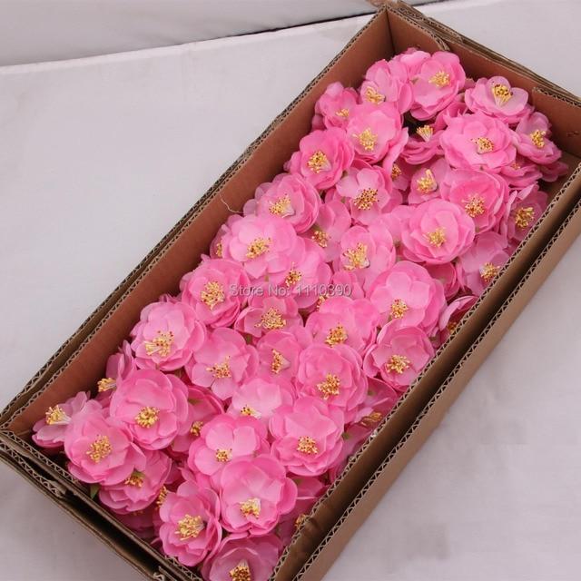 5 СМ искусственный камелия цветы из ткани, Шелк камелии брошь мост букеты для DIY garland, Запястья корсаж цветочные аксессуары
