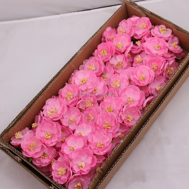 Aliexpress.com : Buy 5CM artificial camellia fabric flowers,Silk ...