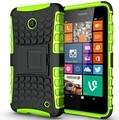 Coque Lumia 650 640 635 630 Fundas Hybrid Rugged Armor Hard Case For Microsoft Lumia 630 635 640 650 Shockproof Case Kickstand