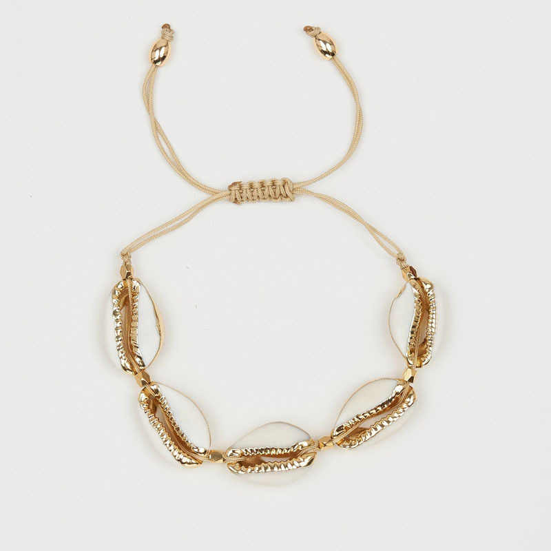 1pc Cowrie shell Bracelet femme Adjustable boho Macrame friendship Real Seashell Bracelet Mothers Day Jewelry Gift
