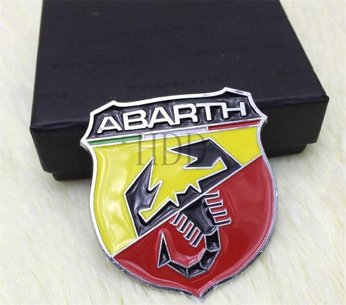 abarth car logo badge emblem sticker-in Car Stickers from ...