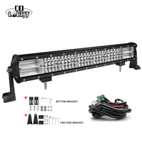 CO LIGHT 20 20 Led Bar 8D 468W Led Strip For Lada Jeep Wrangler Jk Uaz