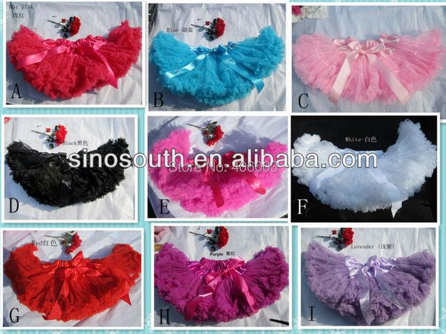 2013 venta al por mayor al por menor descuento Chiffion Pettiskirts de los bebés tutu Ballet danza faldas con la colmena