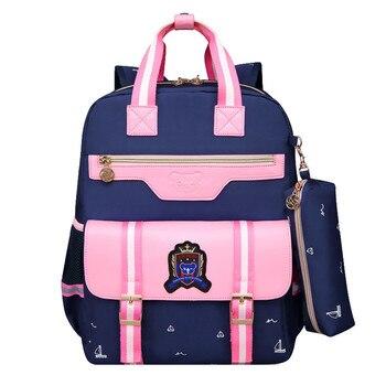 Kids School Bags Children backpacks Waterproof Nylon girl orthopedic school bag Printing Backpack Book Bag Mochilas women backpacks women s nylon girl school bag high quality ladies bags designer bolsas masculina harajuhku mochilas kanken usb