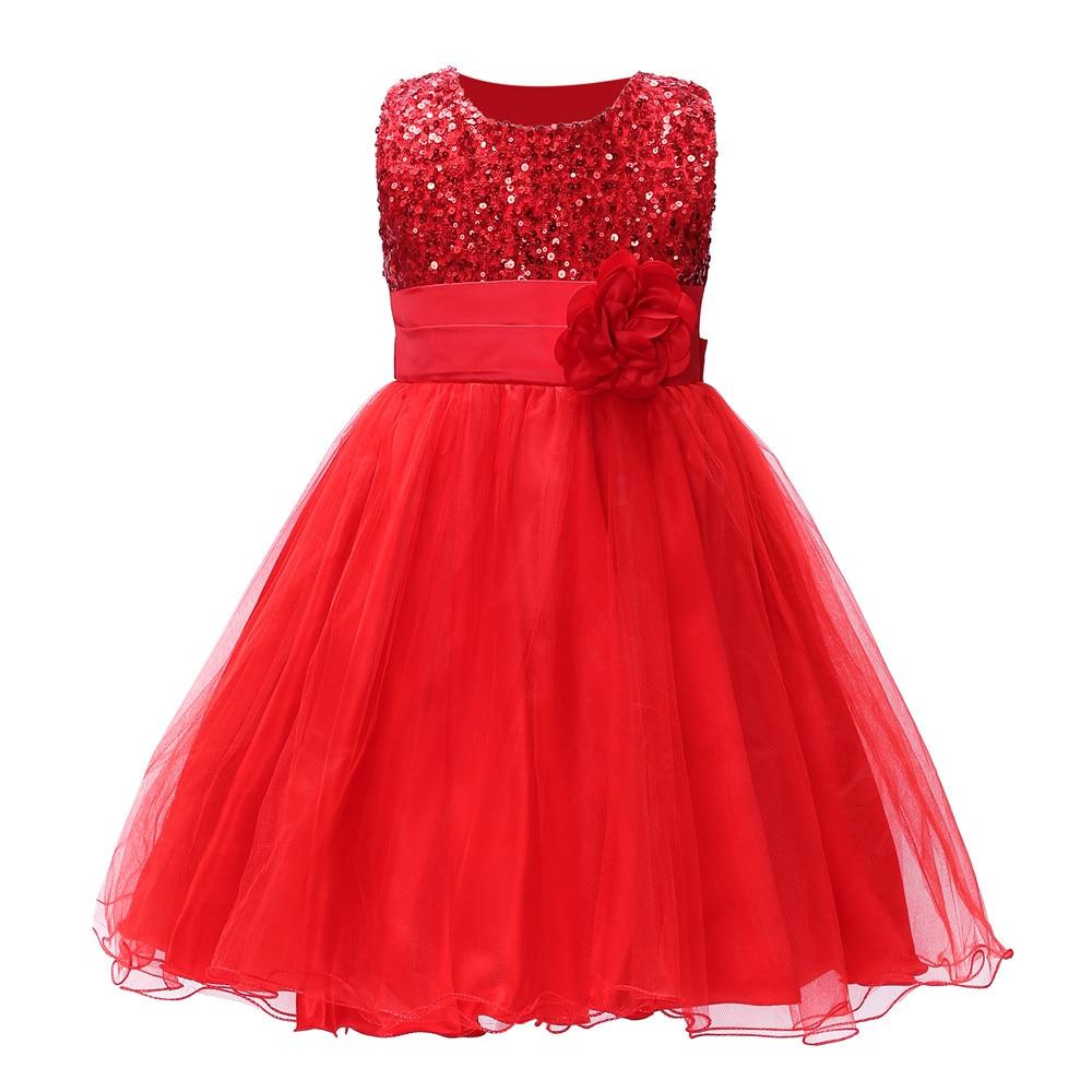 Nyári hercegnő lány csipke ujjatlan folytonos virág golyó ruha ruha egy darab napi ruha gyerek ruhák