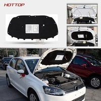 rkac 1 PCS for Volkswagen POLO 2011 2016 Engine hood insulation cotton insulation cotton trunk lid liner accessories