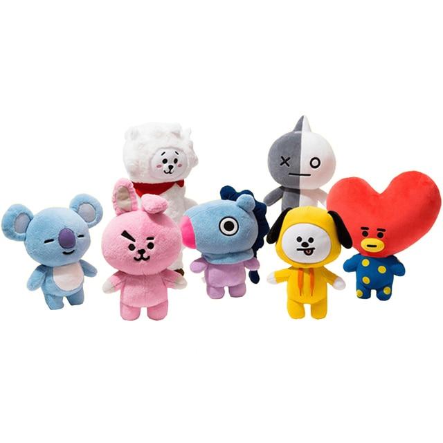 Kpop Home Bangtan Boys Bts Bt21 Vapp Kids Plush Toy Doll Bolster Q