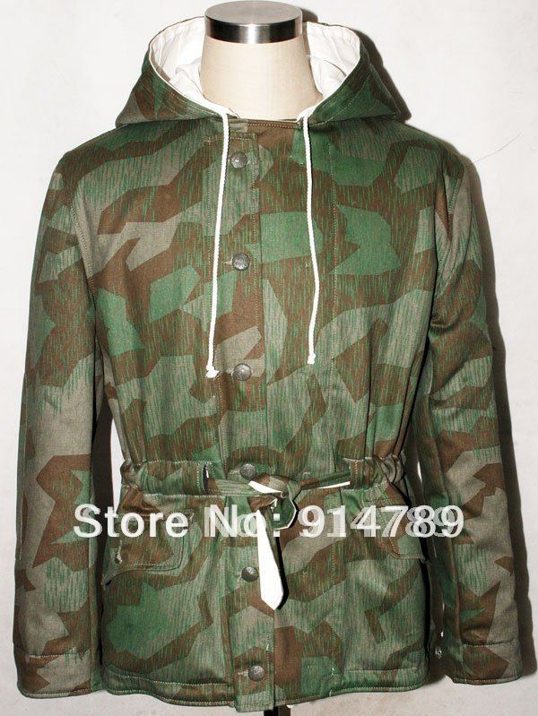 WW2 GERMAN SPLINTER WINTER REVERSIBLE PARKA IN SIZES-31711