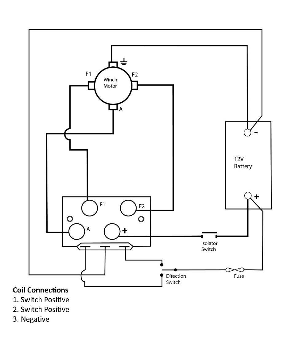 Heavy Duty 12V/24V DC Winch Reversing Solenoid Relay 500A Automotive Switch  4WD 4X4 automotive switch 4wd switch4x4 switch - AliExpress   Winch Reversing Solenoid Wiring Diagram      AliExpress