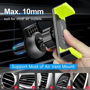 Image 3 - حامل هاتف السيارة آيفون X XS Max 8 7 6 سامسونج 360 درجة دعم موبايل تنفيس الهواء حامل للسيّارة حامل هاتف في السيارة