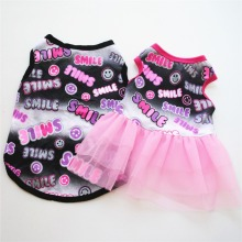 Summer Dog Dress Pet Dog Clothes for Small Dog Wedding Dress Skirt Puppy Clothin