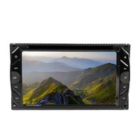 6.2 inch two din Universal touch screen Panel DVD Player With Screen VCD/MP3/SD/USB/FM Transmitter SH6283DVD|dvd screen|2 usb panel|player fm -