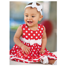 Summer Baby Dresses Cute Baby Girls