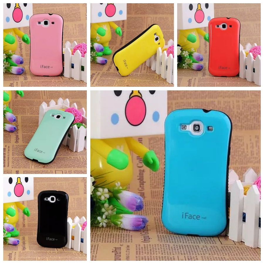 Tpu samsung galaxy s3 s3 neo - For Samsung Galaxy S3 Cases Luxury Iface Back Hard Soft Tpu Cover For Samsung S3